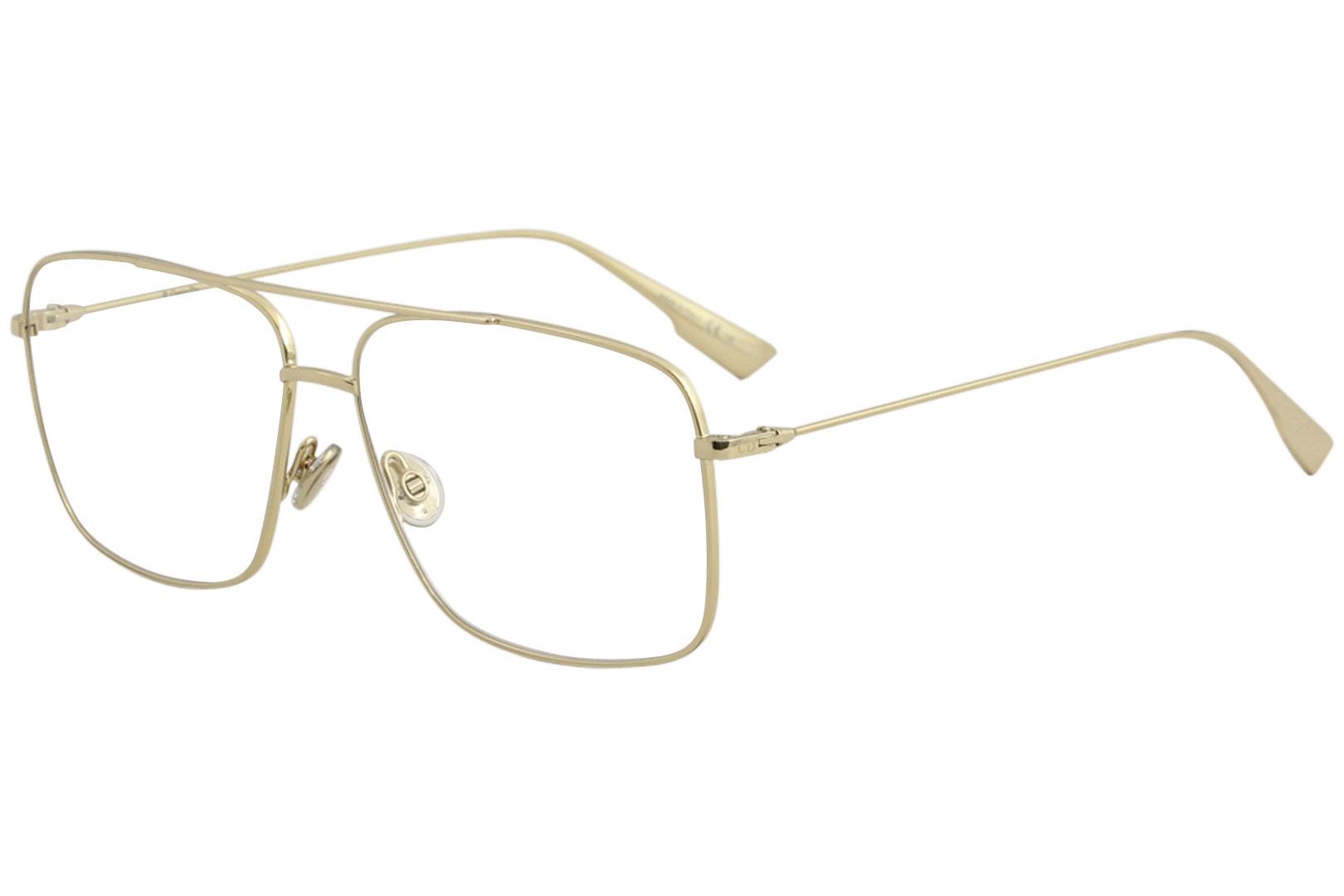 2dbf63e4a1 Christian Dior Eyeglasses Women's DiorStellaireO3 J5G Gold Optical ...