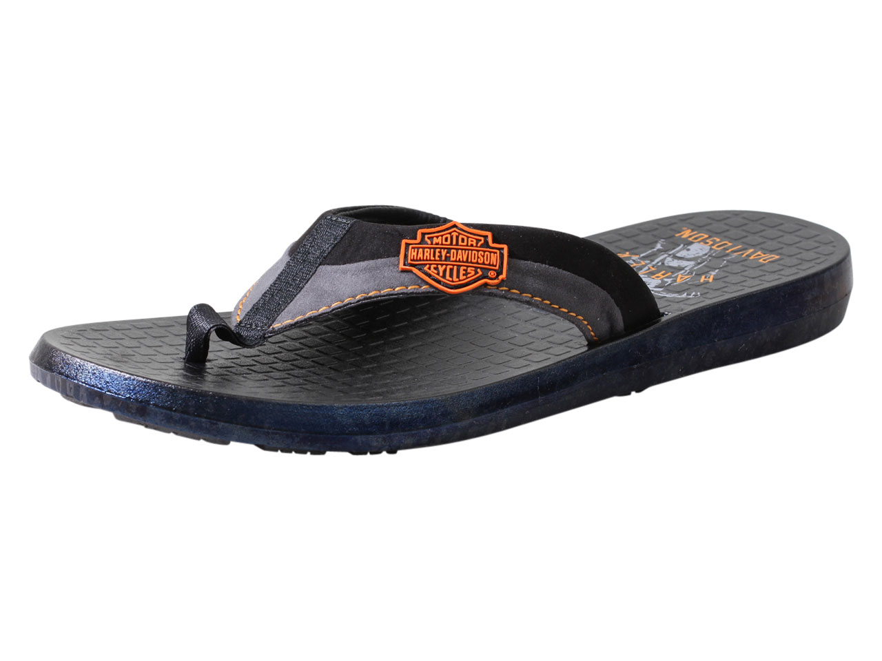 5d94253794105 Harley-Davidson Men s Adams Flip Flops Sandals Shoes