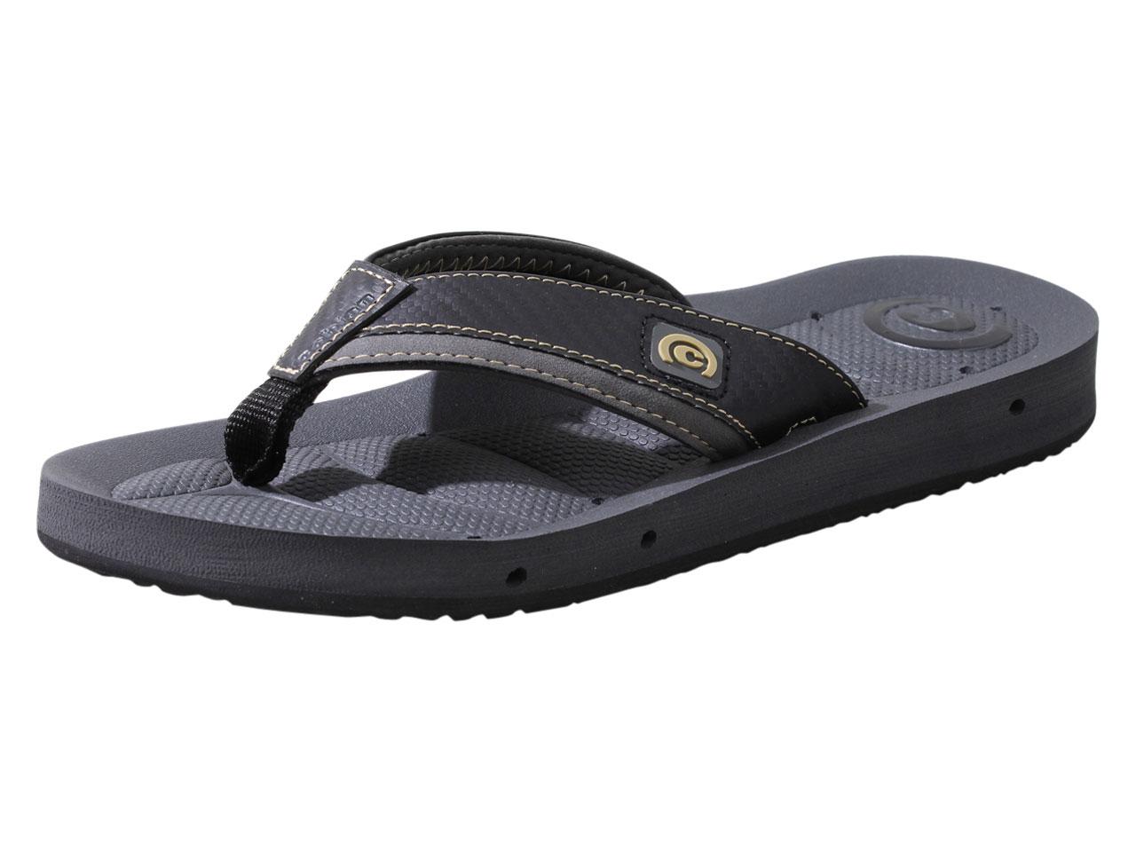 e0ad7f0604e0 Cobian Men  039 s Draino-II Flip Flops Sandals Shoes