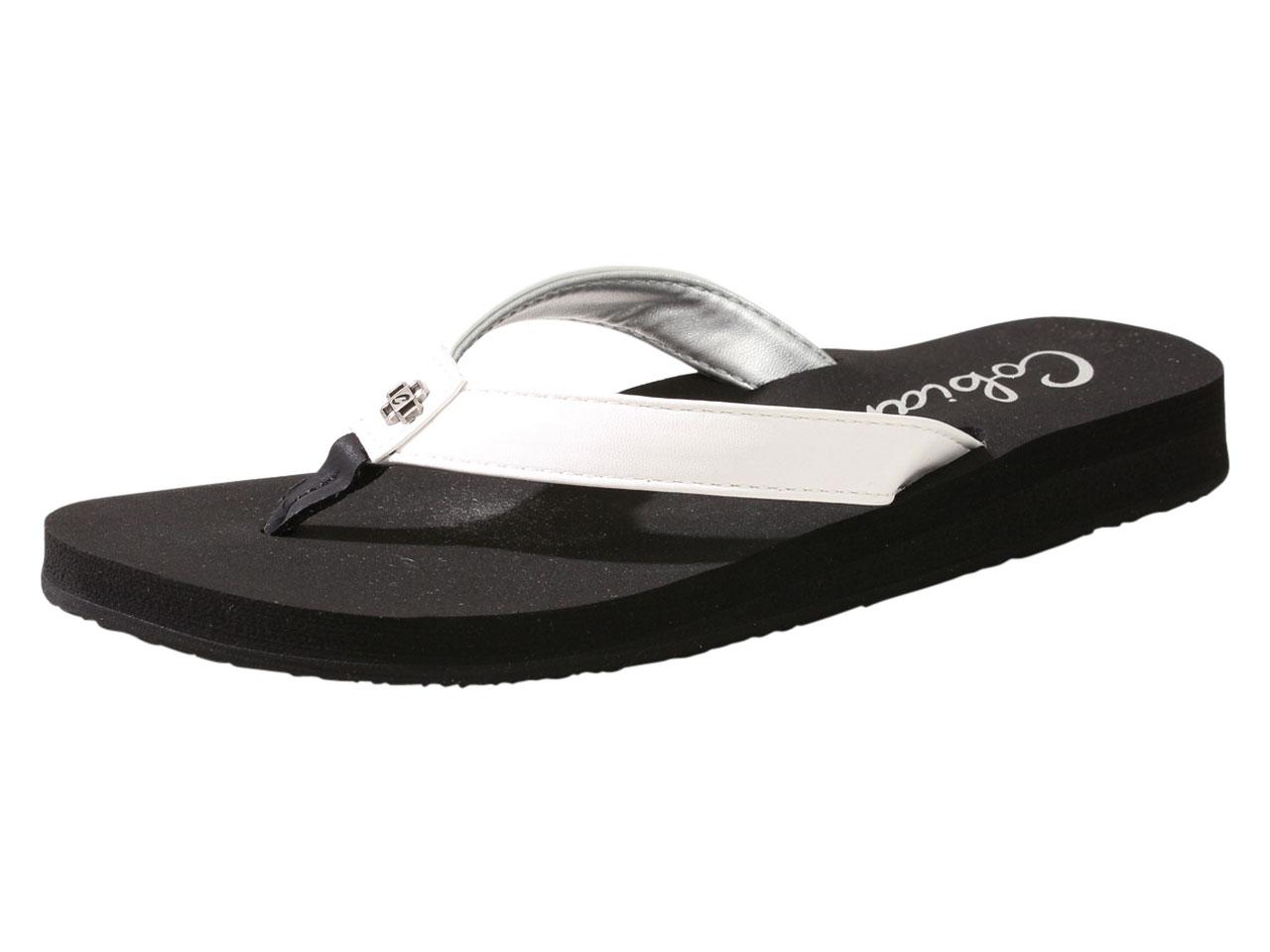 3b6a2700e Cobian Women s Skinny Bounce Flip Flops Sandals Shoes
