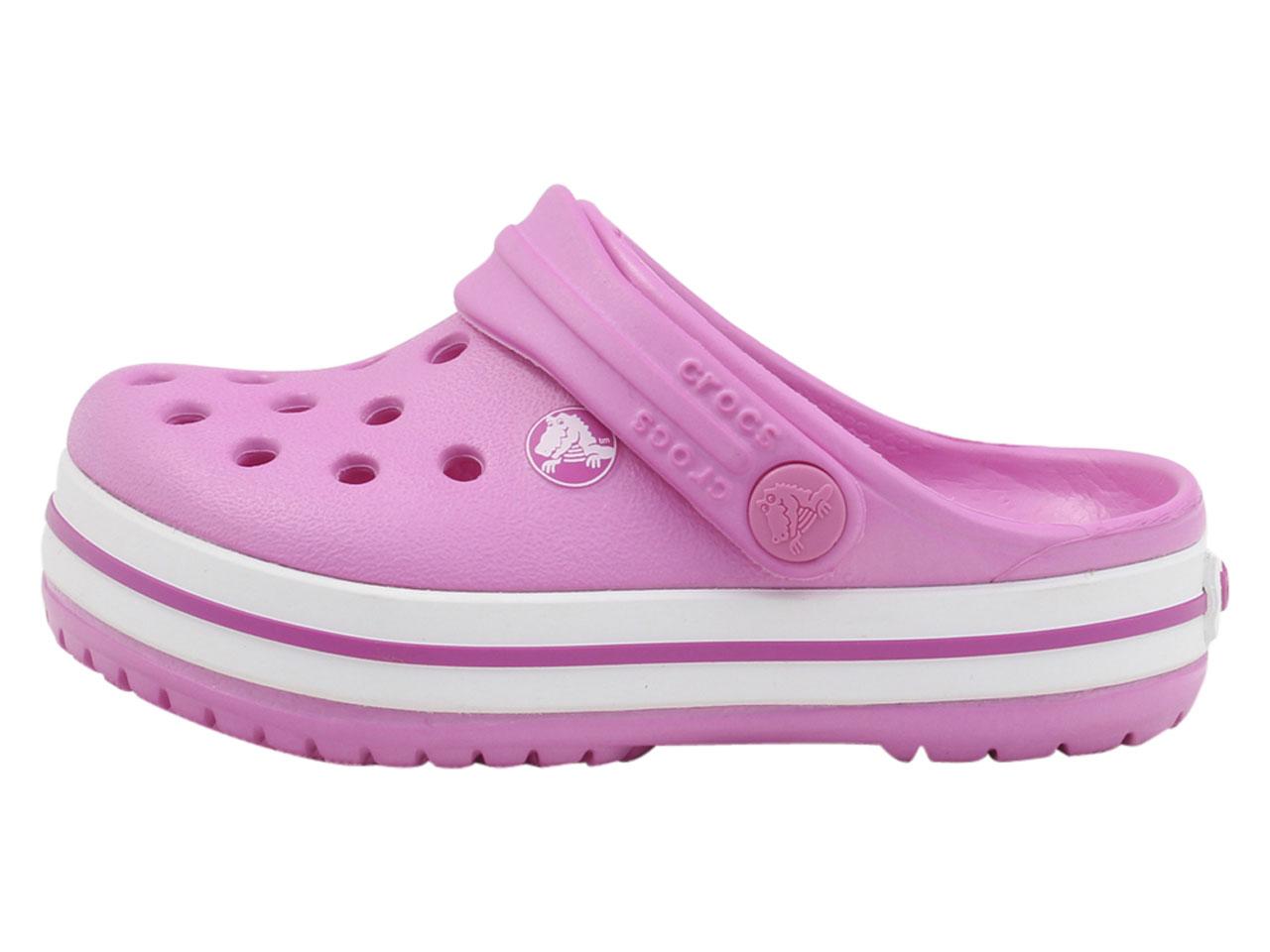 Crocs-Little-Kid-039-s-Crocband-Clogs-Sandals-Shoes thumbnail 10