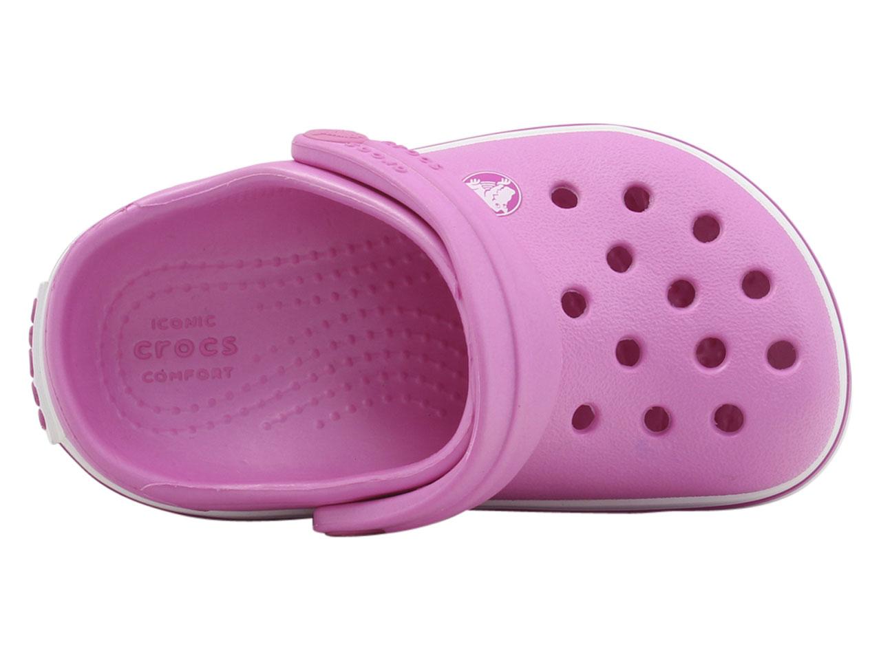 Crocs-Little-Kid-039-s-Crocband-Clogs-Sandals-Shoes thumbnail 13
