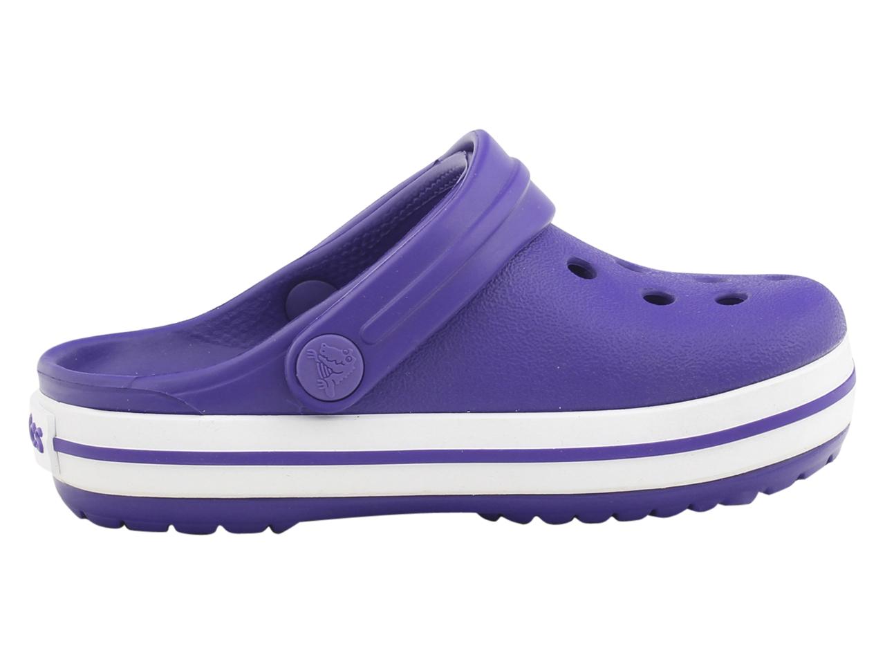 Crocs-Little-Kid-039-s-Crocband-Clogs-Sandals-Shoes thumbnail 19