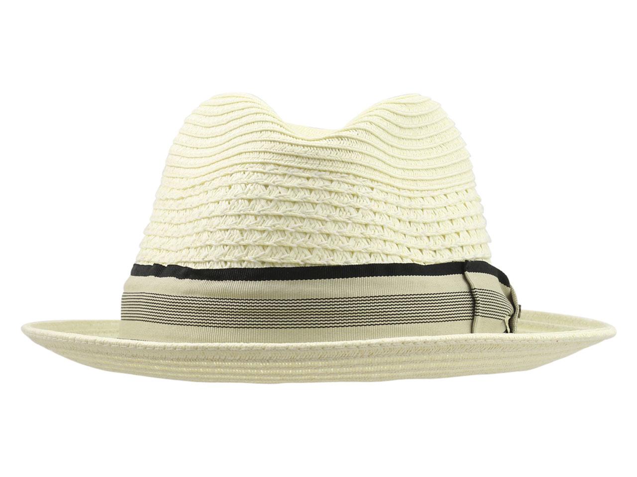 0a93689b Scala Men's Paper Braid Toyo Fedora Hat | eBay