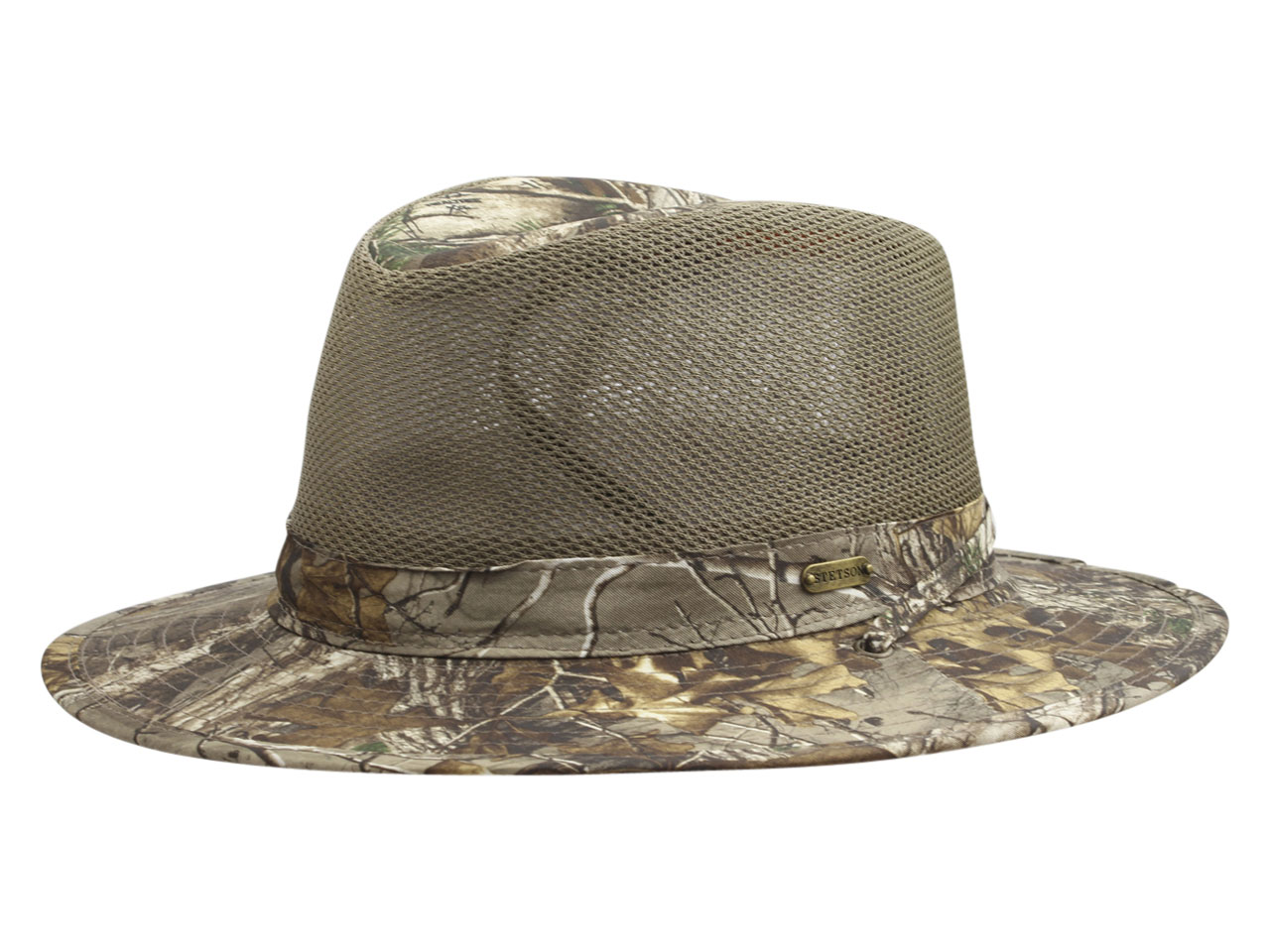 79ba4d9c64a Stetson Men s Realtree Xtra No Fly Zone Insect Repellent Safari Hat ...