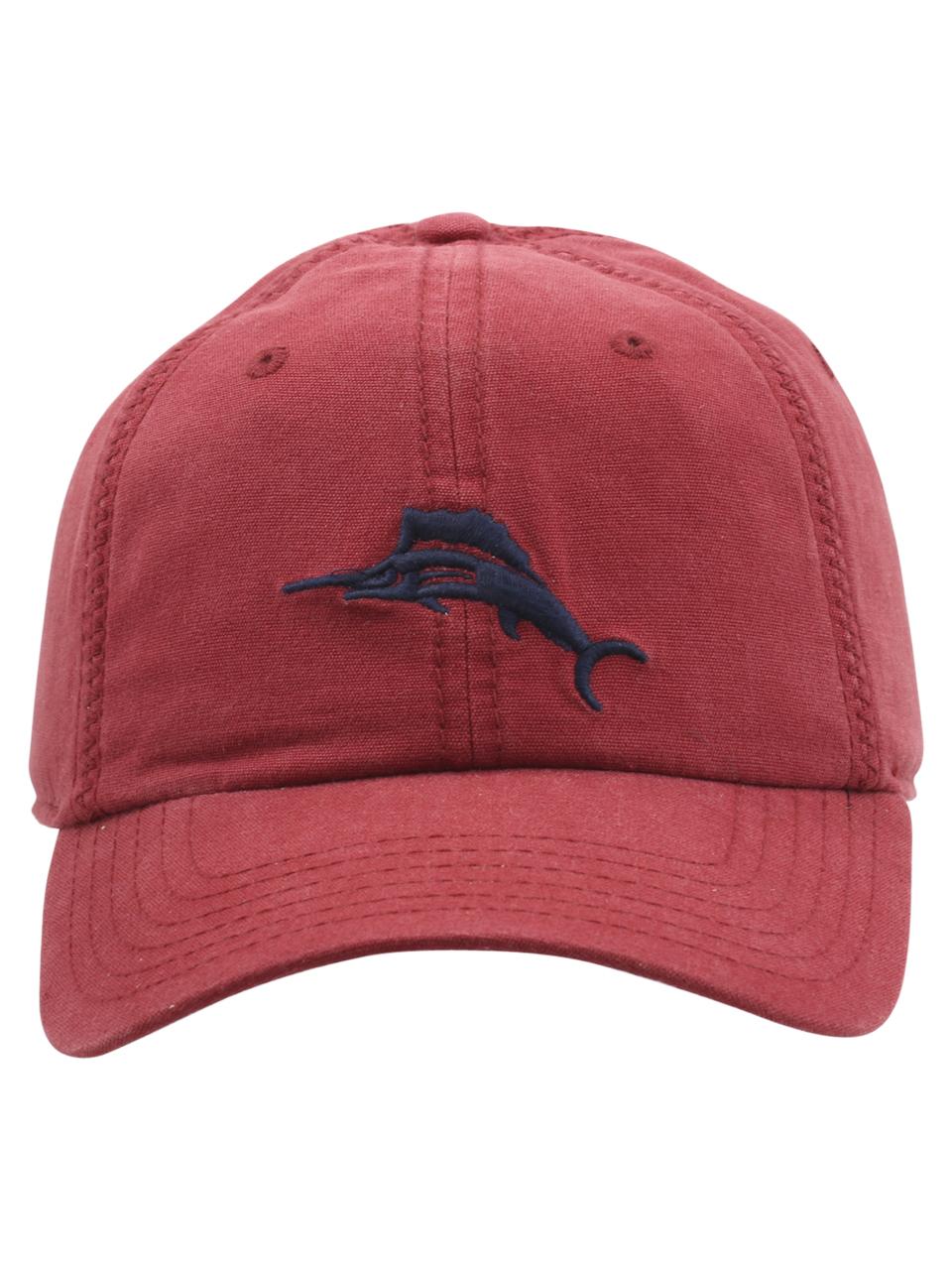 Tommy Bahama Strapback Cross-Stitch Baseball Cap Hat  7d205351b61