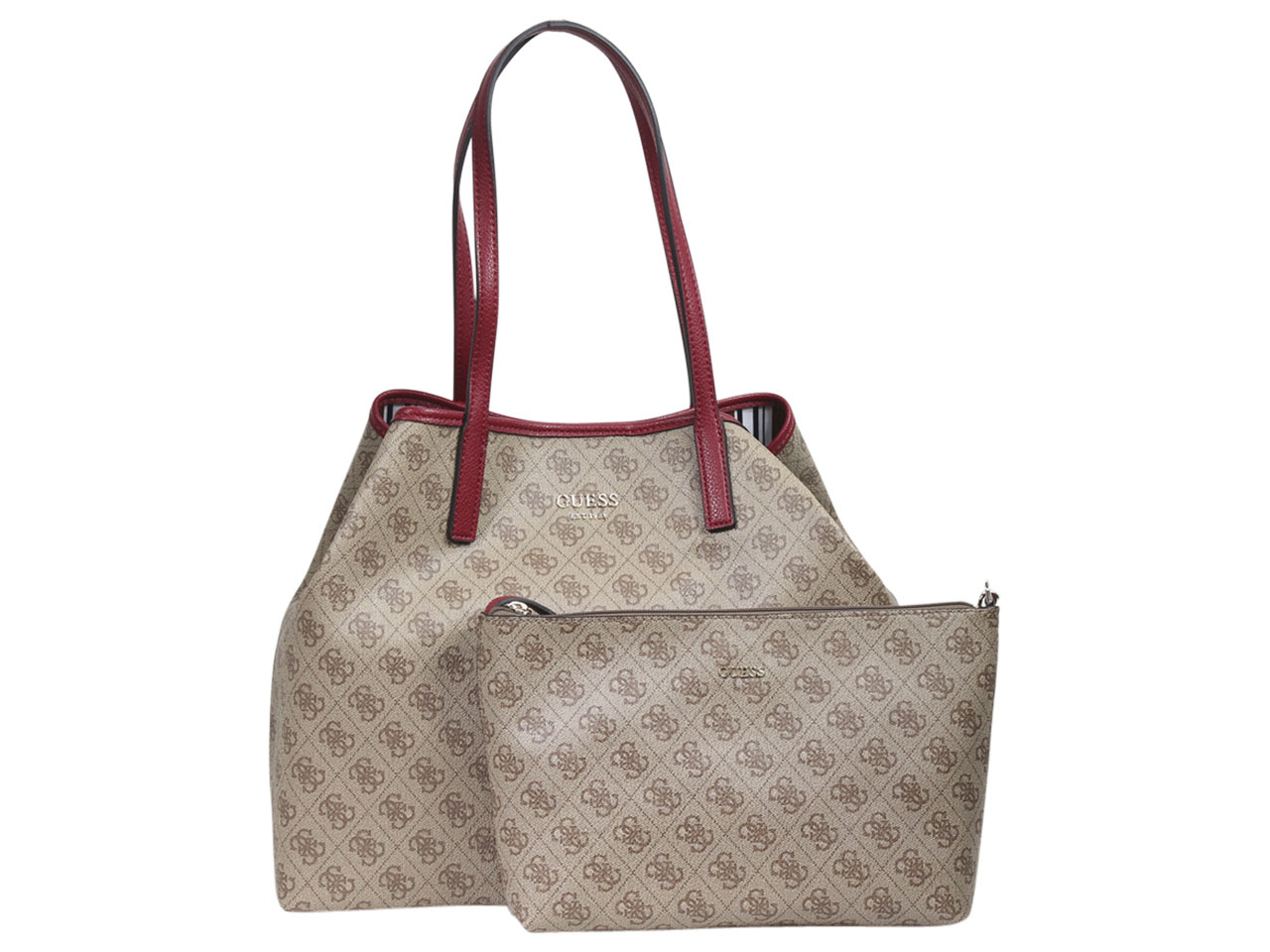 58c72be153a Guess Women s Vikky Large Tote Handbag Set   eBay