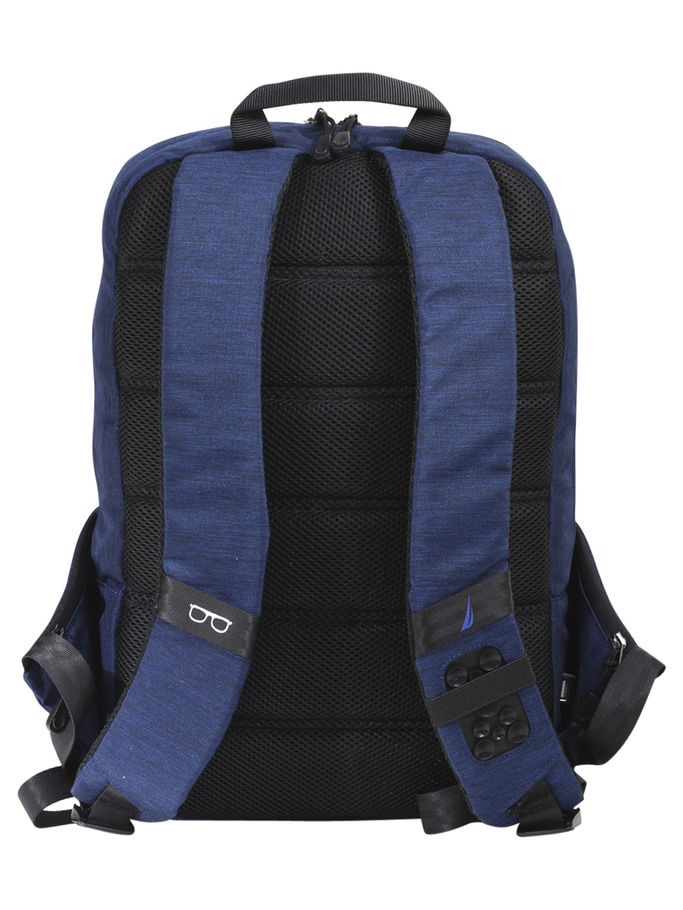 a4f1fcaea Nautica Men's Quilted Tech USB Water Resistant Nylon Laptop Backpack
