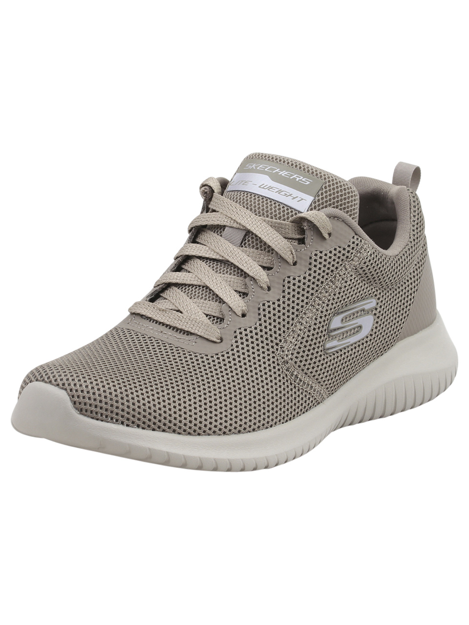 Details about Skechers Ultra Flex Free Spirits Dark Taupe Memory Foam Sneakers Shoes
