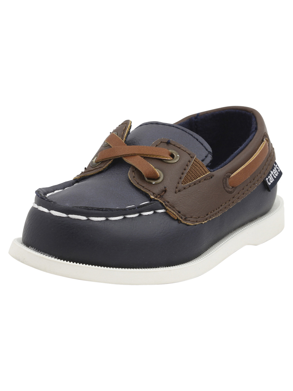 307aad293 Carter s Toddler Boy s Bauk Navy Loafers Boat Shoes
