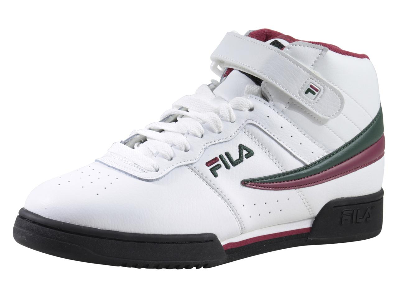 Détails sur Homme Fila F 13V BlancplataneVélo Rouge High Top Sneakers Shoes afficher le titre d'origine