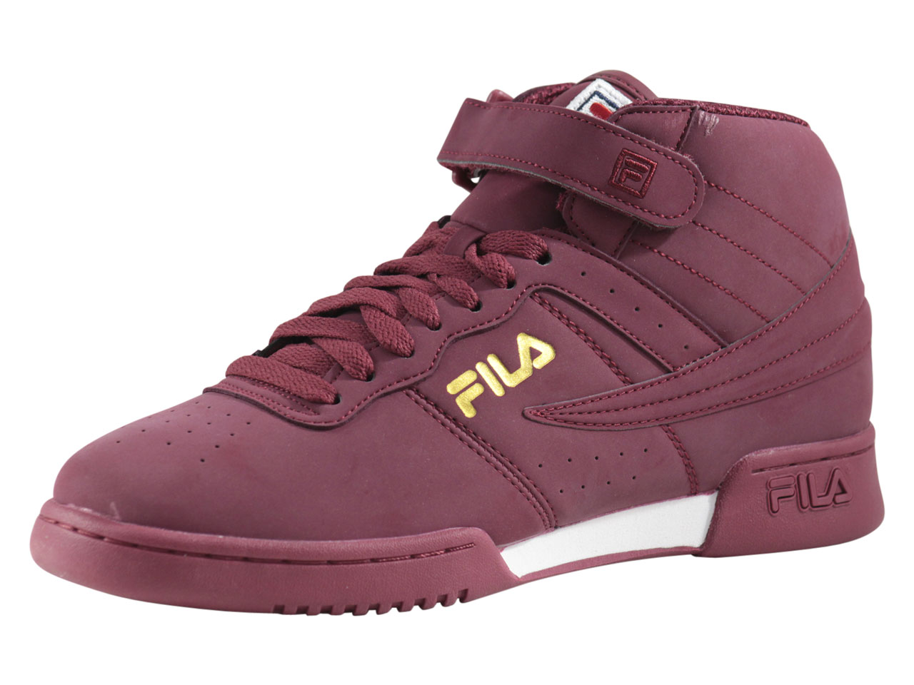 ad28834b13 Details about Fila Men's F-13-Lineker Tibetan Red/White/Marigold Sneakers  Shoes