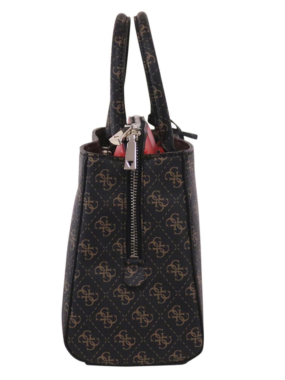 Details about Guess Women's Maddy Girlfriend Satchel Handbag