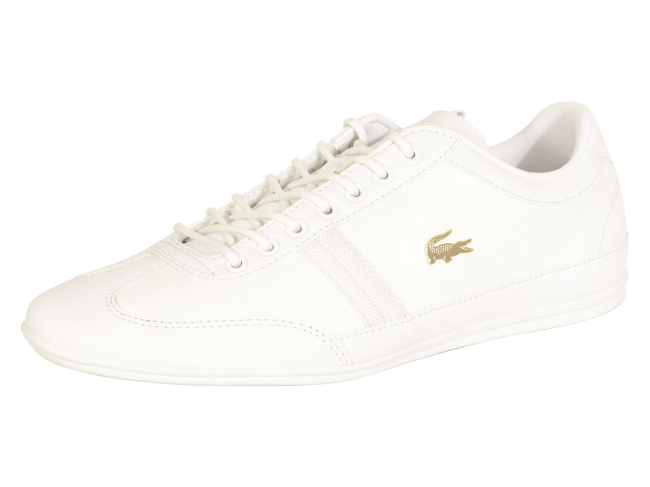 Homme Lacoste Misano - 119 Blanc Blanc paniers Chaussures