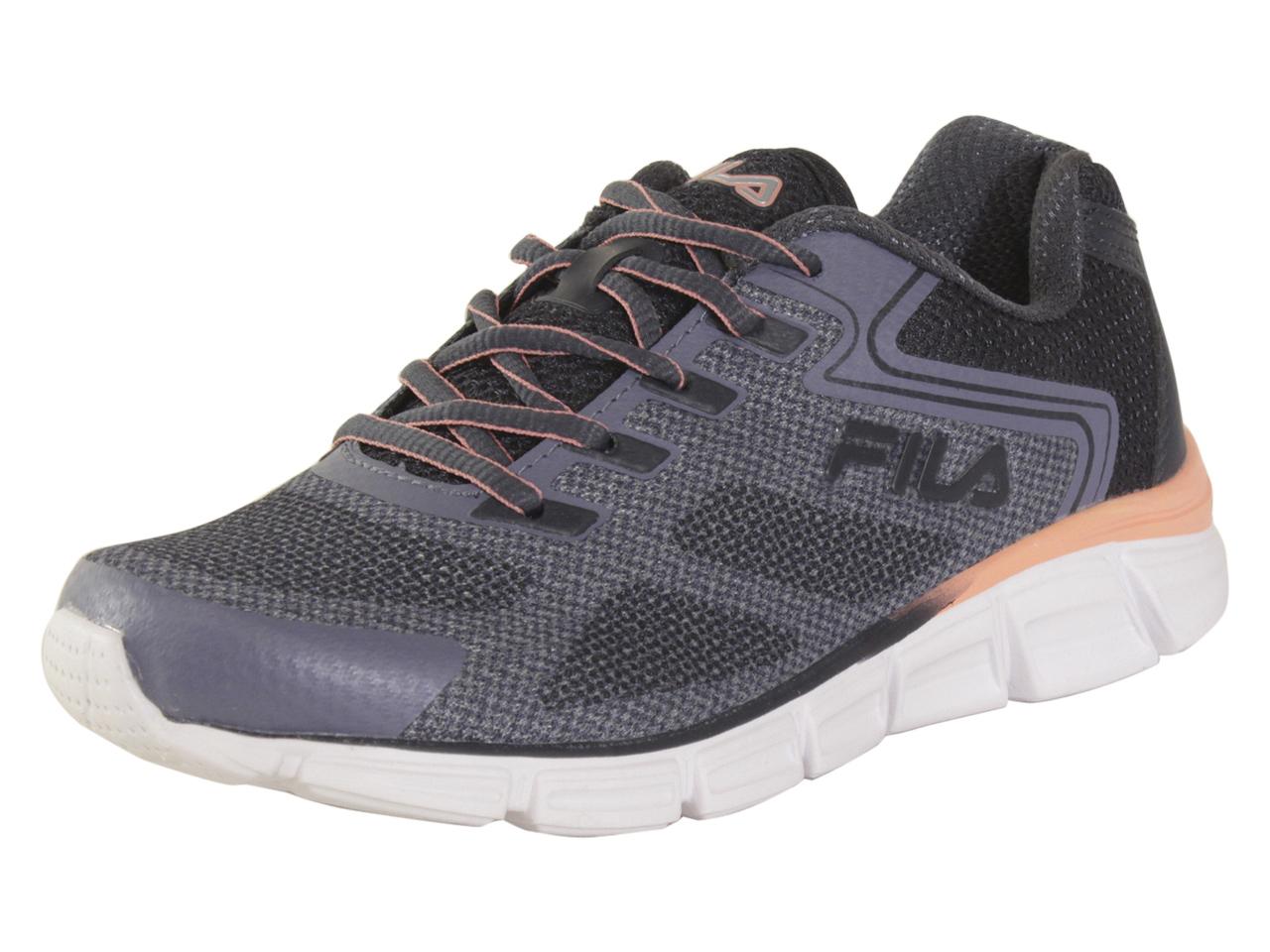 Details about Fila Women's Memory Exolize GreyBlue Memory Foam Running Sneakers Shoes