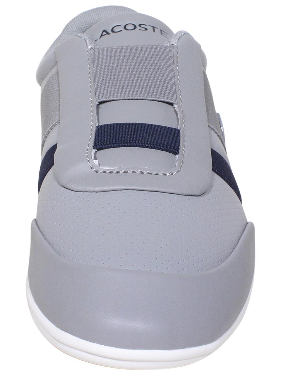 Lacoste-Misano-Elastic-318-Sneakers-Men-039-s-Low-Top-Shoes thumbnail 9