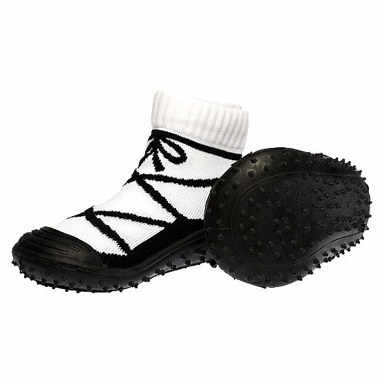 Skidders Black Ballerina Baby Toddlers Infant Sneakers