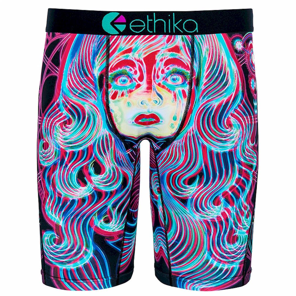d5d2d0dbe51297 Ethika Staple Fit Electric Dream Long Boxer Briefs Underwear | eBay