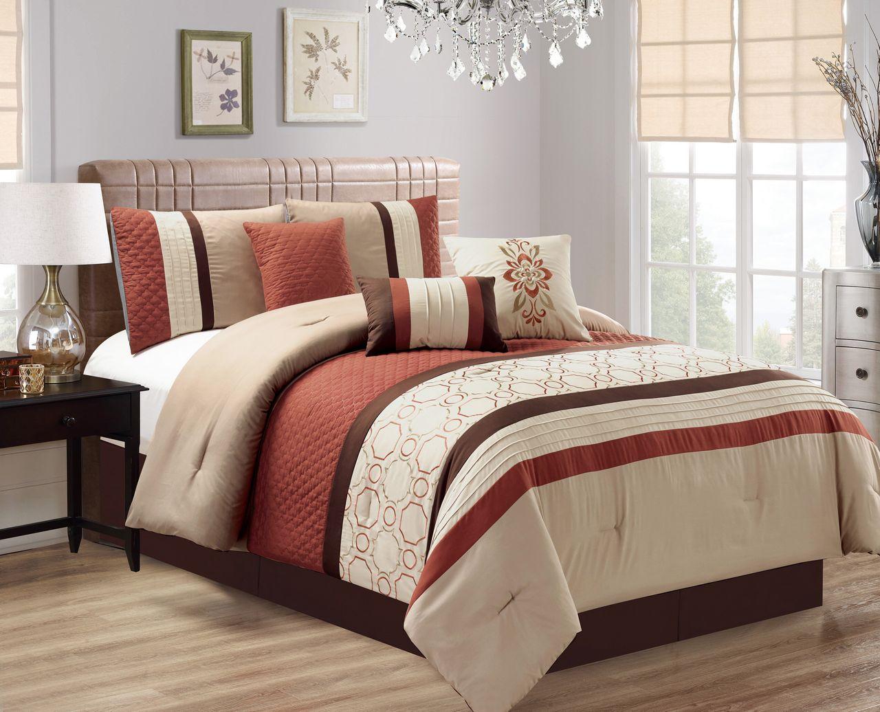 Geometric Black And Ivory Bedding