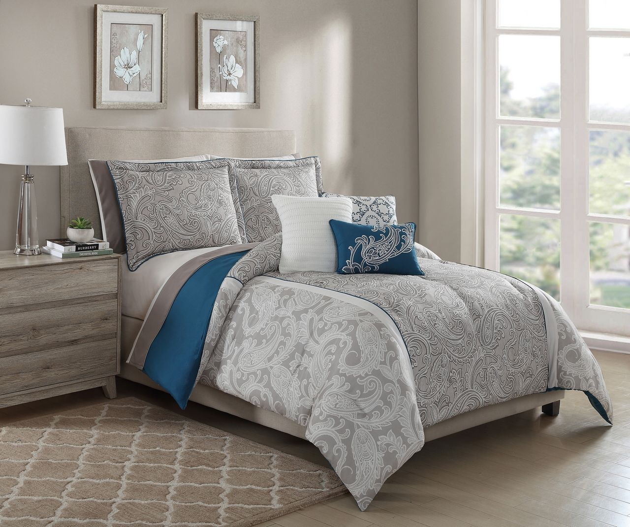 room the bouquet comforter lorenne bianca products img ivory lovely