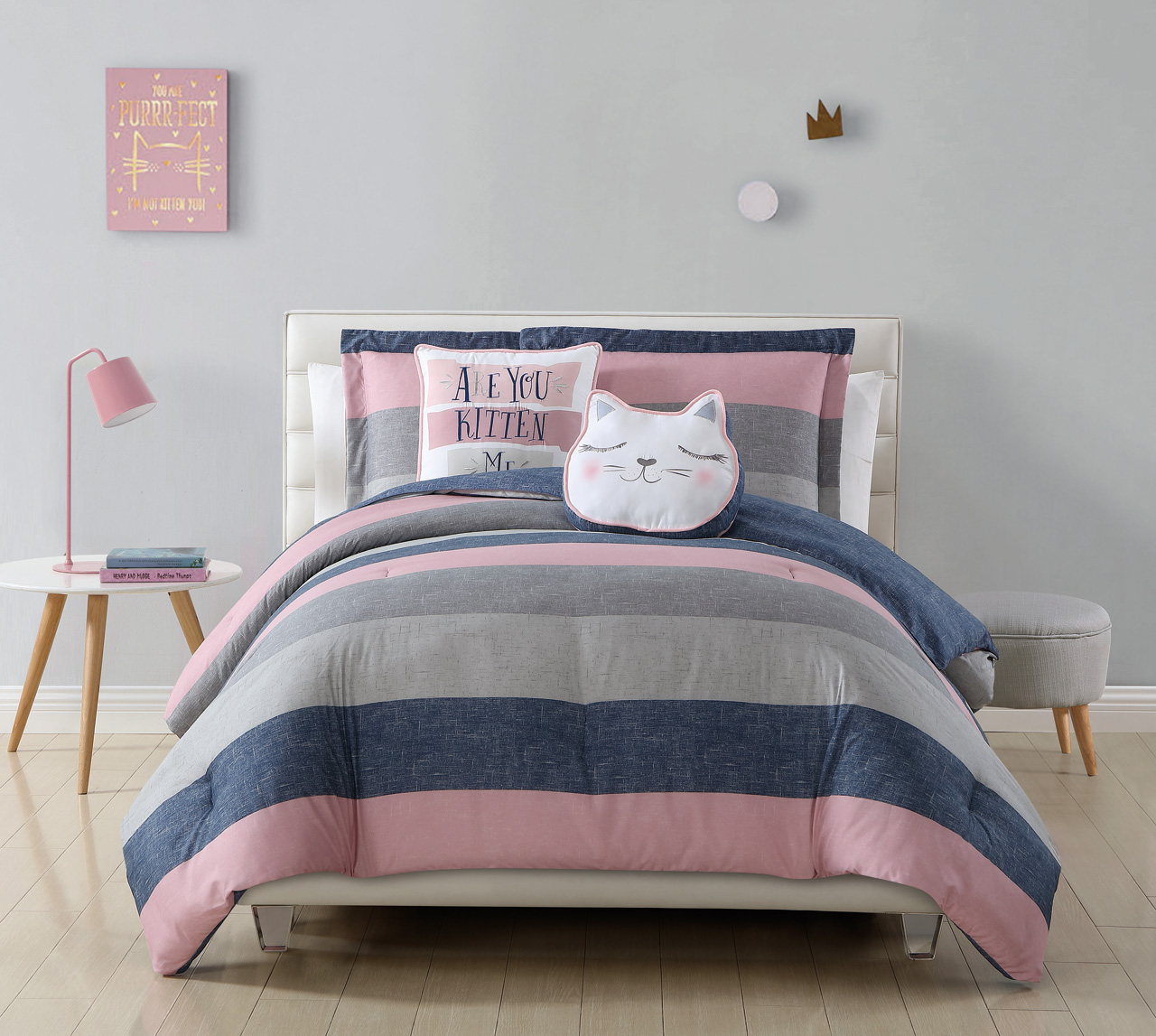 and pictures bedding ideas dorm home superior in a set box pink blue design comforter room