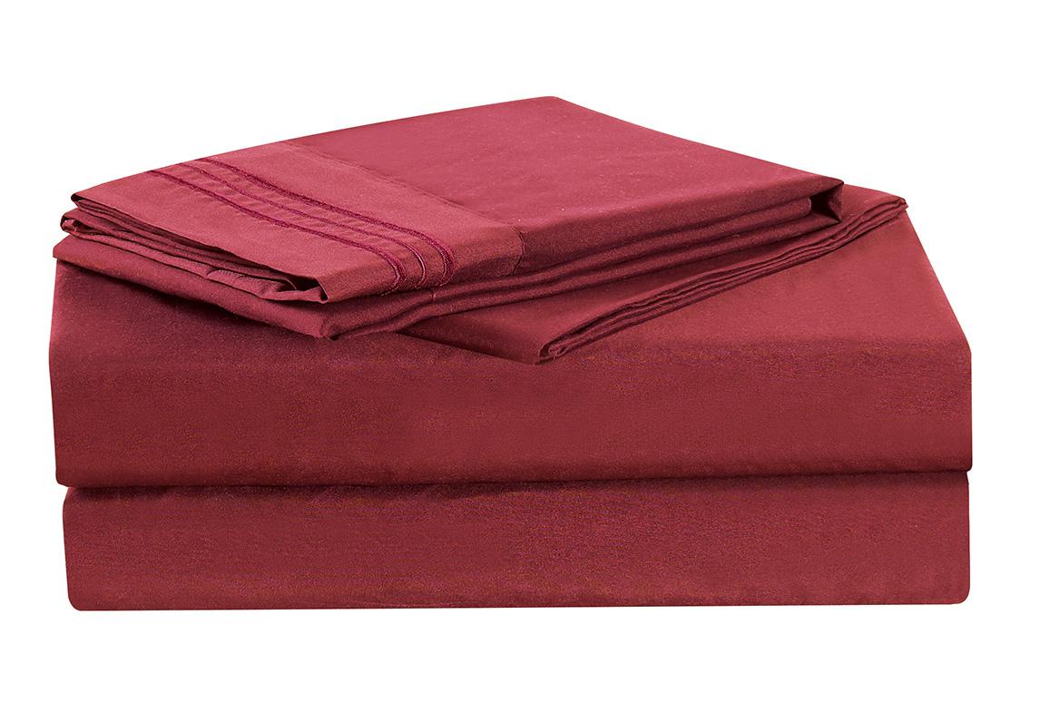 1800 thread count sheet set egyptian quality wrinkle resistance ebay. Black Bedroom Furniture Sets. Home Design Ideas