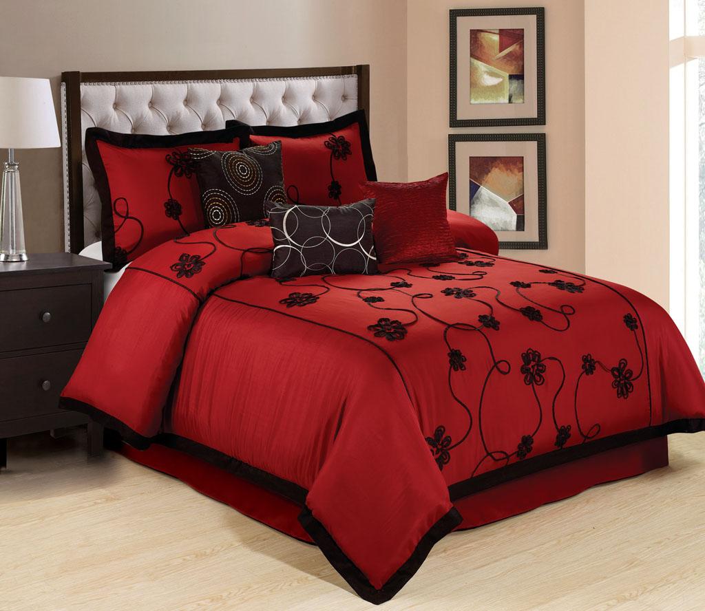 7 Piece Olivia Comforter Set Ebay