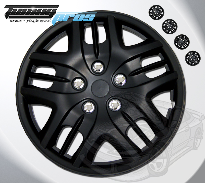 "15/"" Inches Hubcap Style#025-4pcs Set of 15 inch Wheel Rim Skin Cover Hub caps"