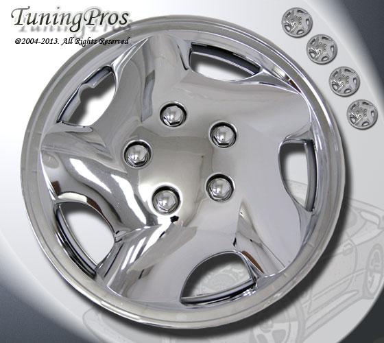 "14"" inch Hubcap Chrome Wheel Rim Covers 4pcs Style Code 852 14 inches Hub Caps"