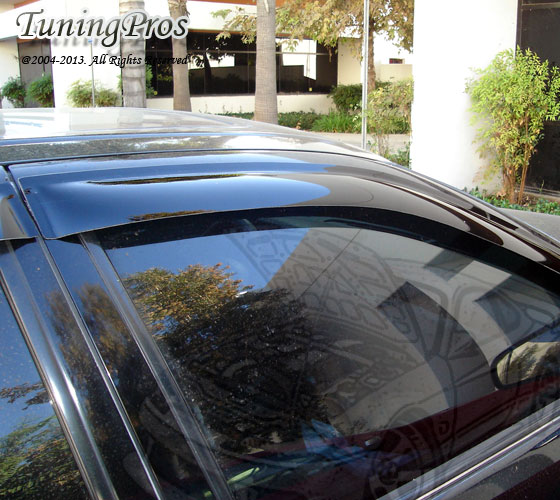 For Acura RSX DR Outside Mount Windows Visor Sun Guard Top - Acura rsx sunroof