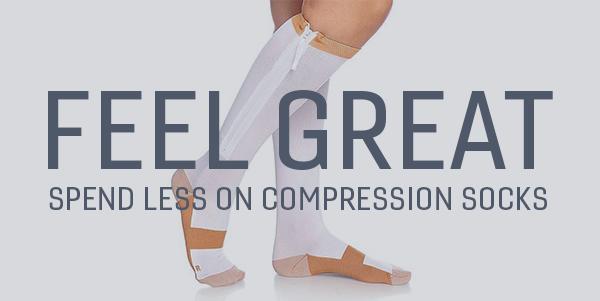 Compression Zipper Socks