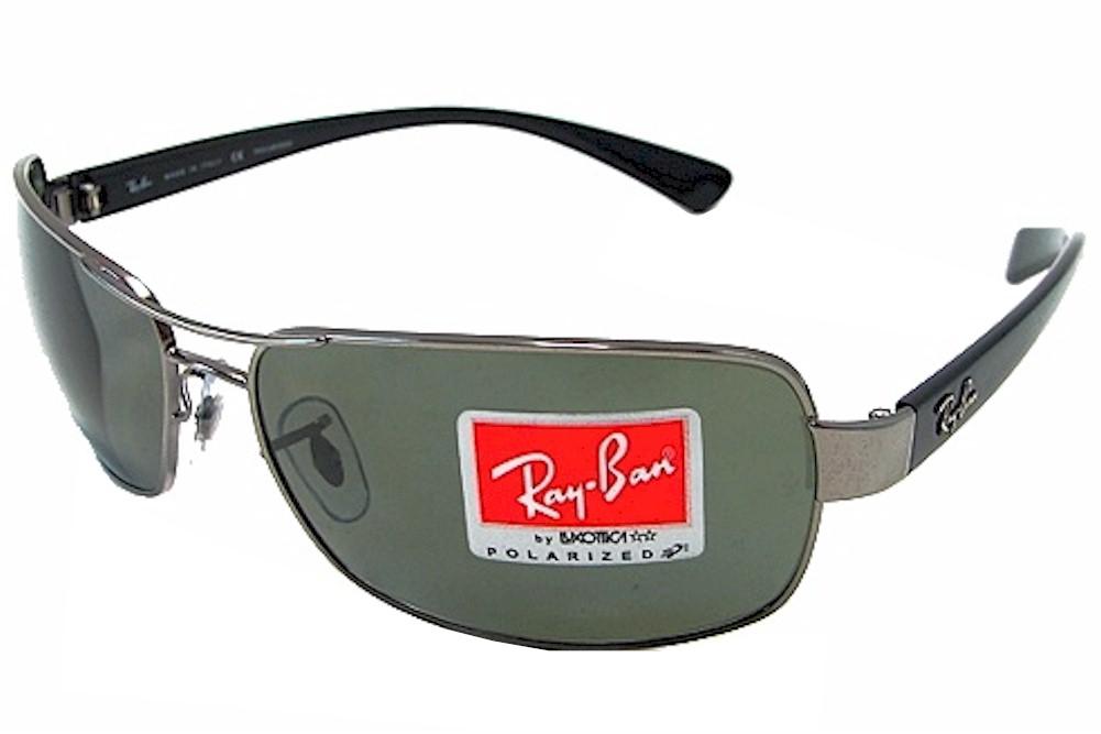 c3b612b21 Ray Ban Men's RB3379 RB/3379 004/58 Gunmetal RayBan Polarized ...