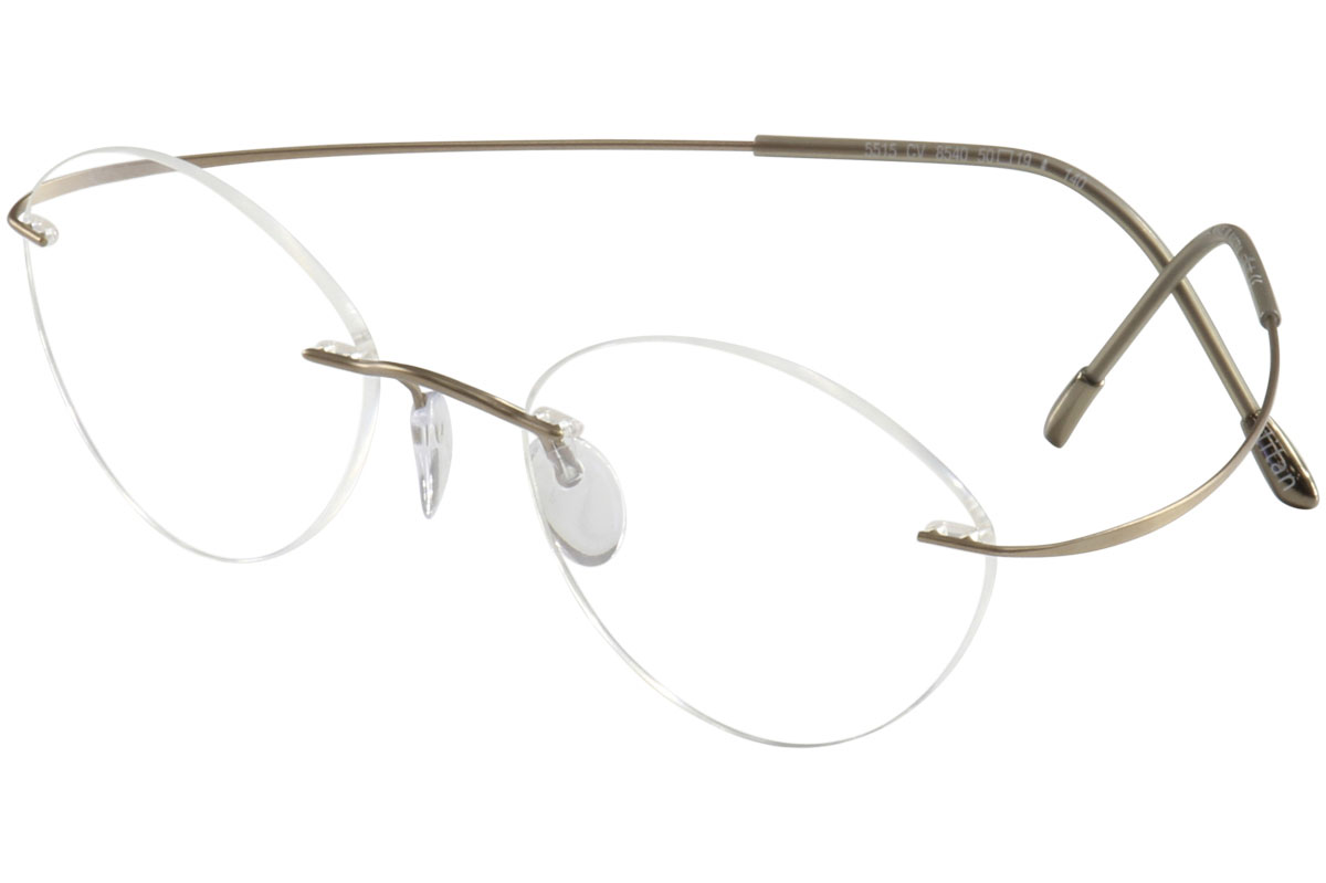 dce7c686ce7 Silhouette Eyeglasses TMA Must Collection Chassis 5515 8540 Gold ...