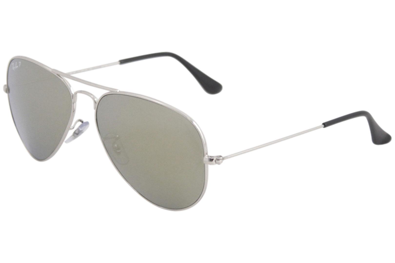 c5e88fede0 Ray Ban RB3025 3025 00359 Silver Mirror Polarized RayBan Aviator ...