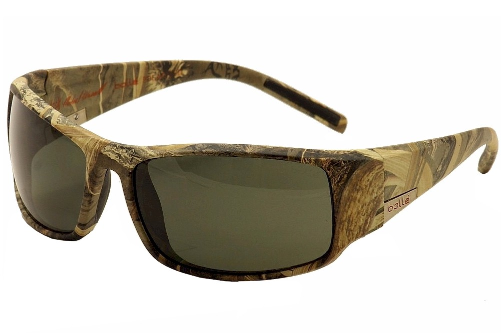 4822359964c Bolle Men s King 12038 Real Tree Gold Red Extra Polarized Sport Wrap ...