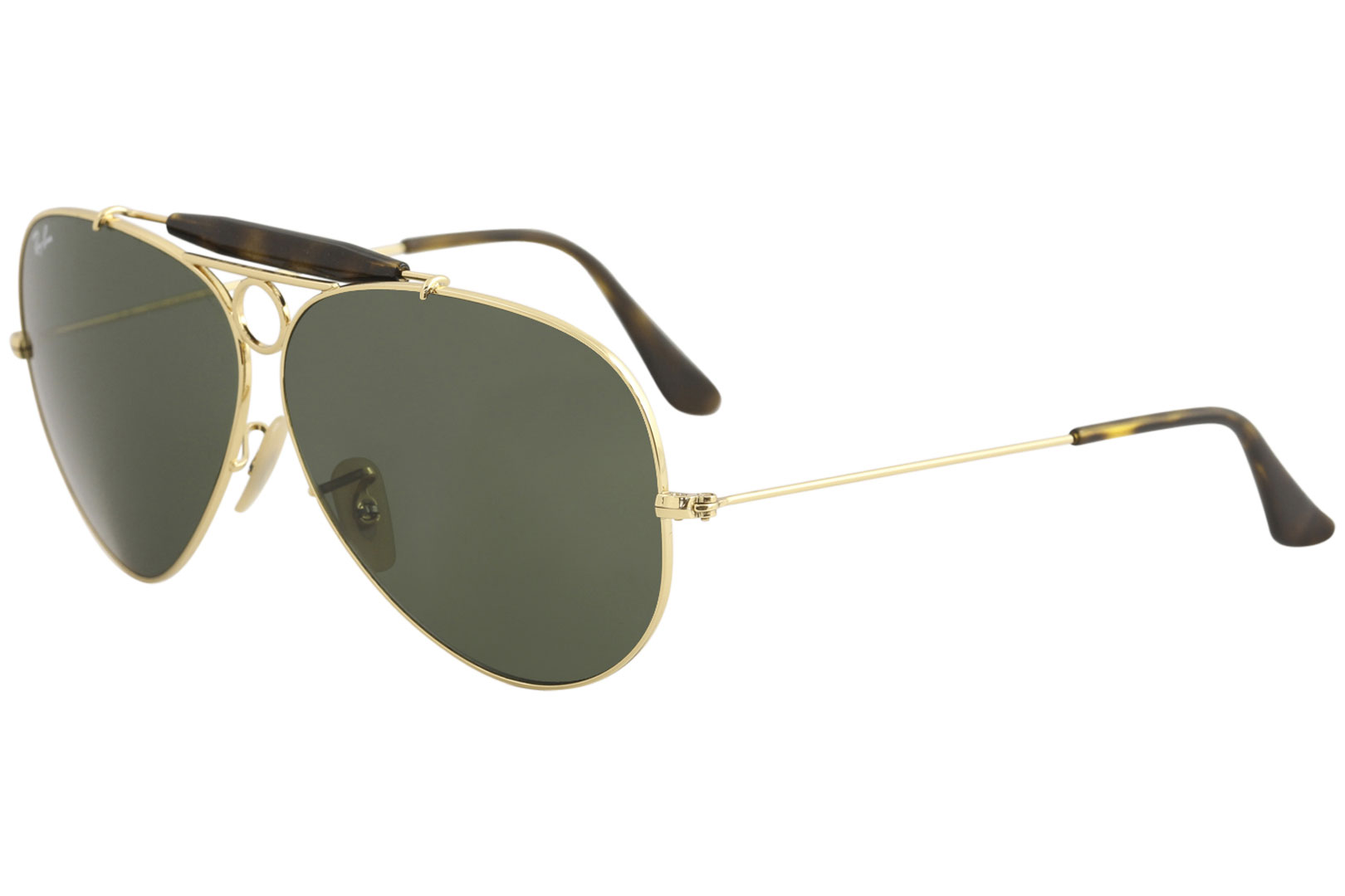 1bfc30b182a Ray Ban Men s Shooter RB3138 RB 3138 RayBan 181 Gold Pilot ...