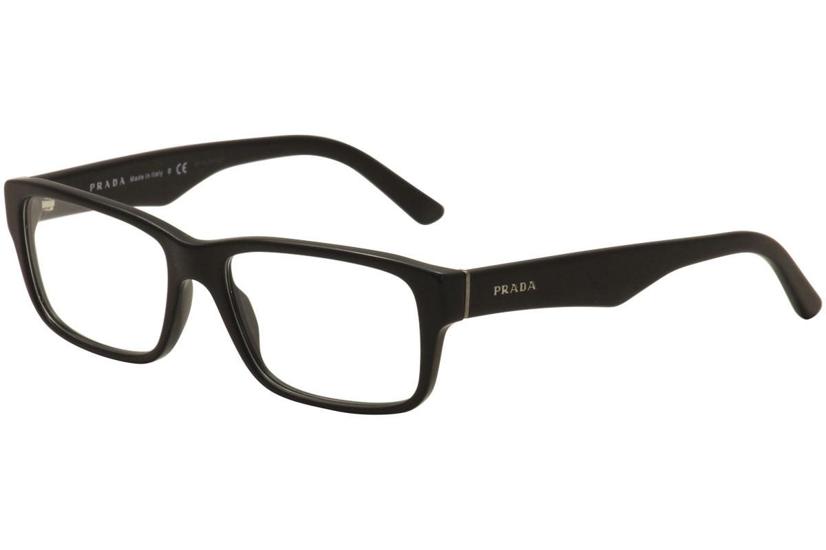 c8a040940830 Prada Men s Eyeglasses VPR16M VPR 16M 1BO-1O1 Matte Black Optical ...