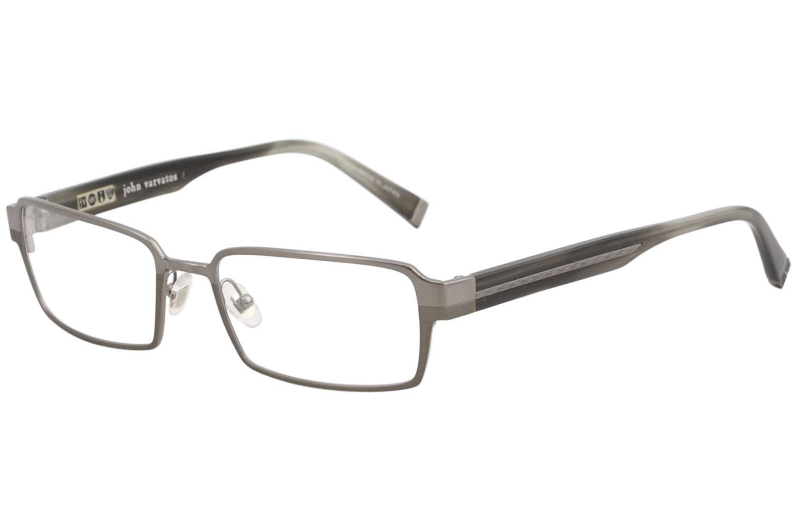 John Varvatos V133 Mens Designer Full-rim Optical Modern Must Have Eyeglasses//Eye Glasses