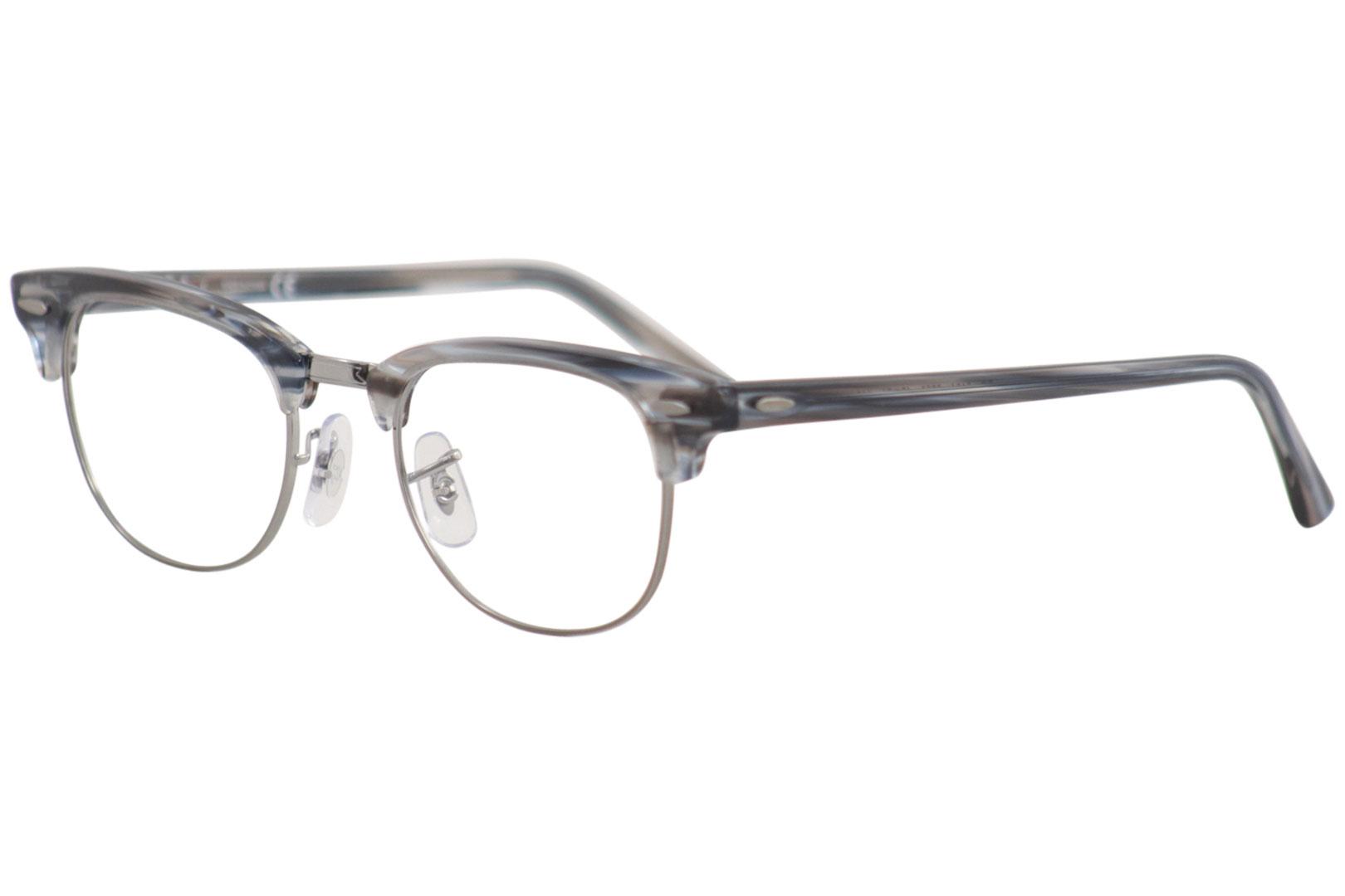cd355da3672a1 Ray Ban Eyeglasses Clubmaster RB5154 RX 5154 5750 Blue RayBan ...