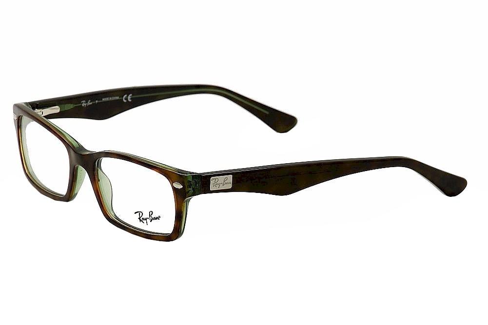 b78d1cf262 Ray-Ban Eyeglasses RB5206 5206 2445 Havana Green RayBan Optical ...