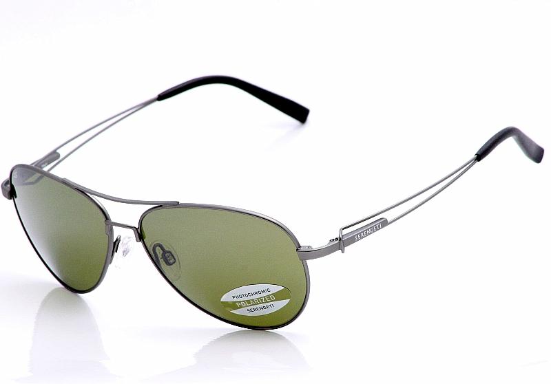 abd58aa81f1 Serengeti Sunglasses Brando 7541 Gunmetal Polarized Shades ...