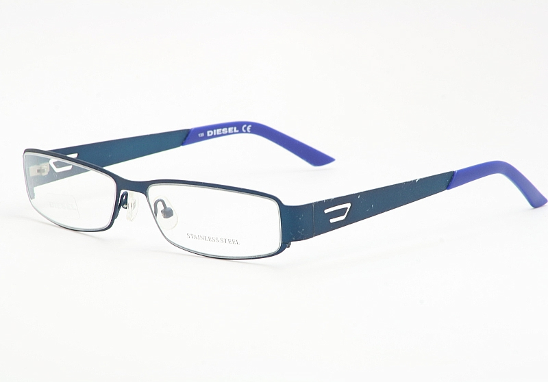 f7d60ae019 Diesel Eyeglasses 0095 Blue Rubber Optical Frames