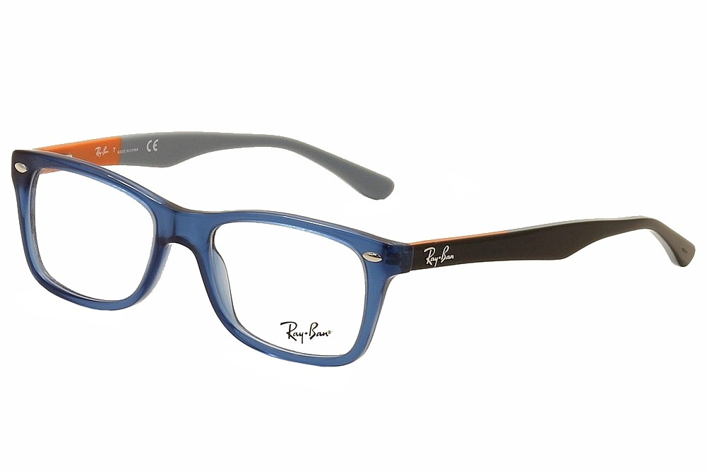7fac4694b77 Ray Ban Eyeglasses RB5228 RB 5228 5547 Blue Black RayBan Optical ...