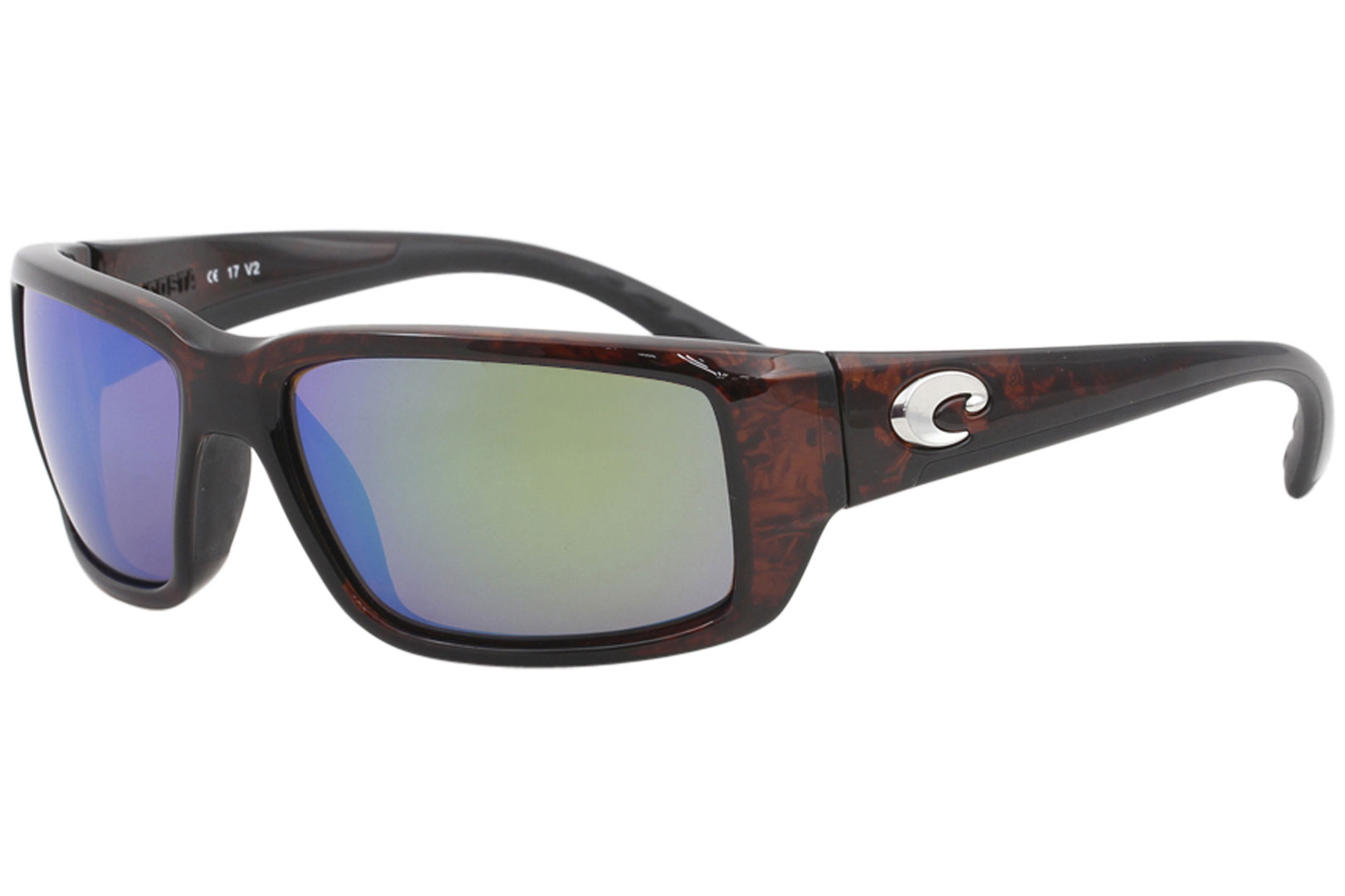 9011d1304f Costa Del Mar Fantail TF10 TF 10 Tortoise Rectangle Polarized ...