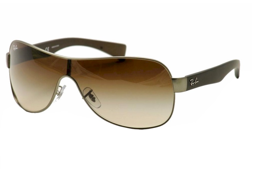 d2ef5ba251e Ray Ban RB3471 RB 3471 029 13 Gunmetal RayBan Shield Sunglasses ...