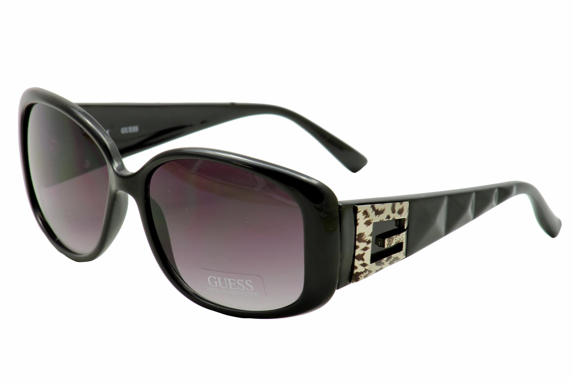 bdaa8a4a03c Guess Women s GU7141 GU 7141 BLK-35 Black Rectangle Sunglasses 56mm ...