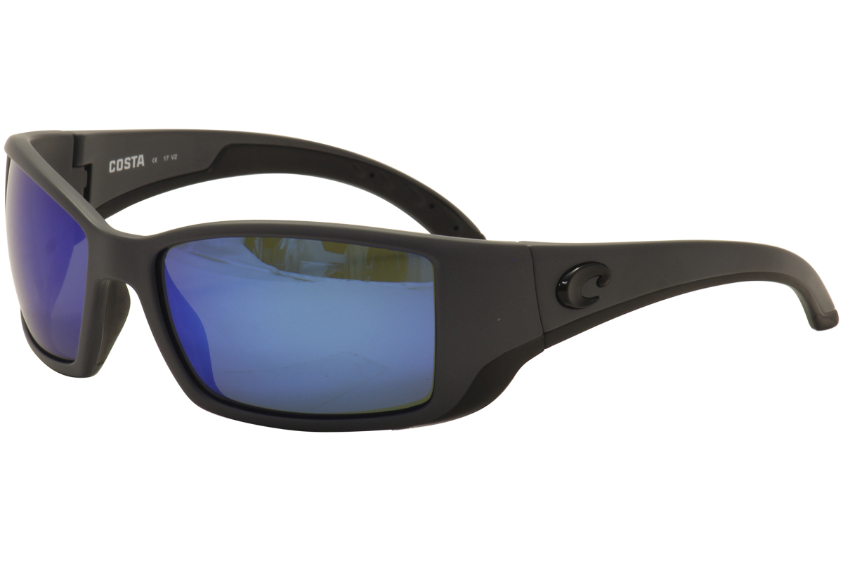 c4c276b568 Details about Costa Del Mar Blackfin BL 98 OBMGLP Matte Grey 580G Polarized  Sunglasses 61mm