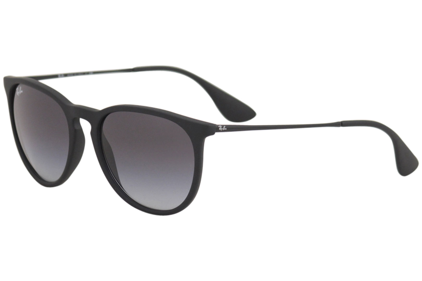 09883a6a2c7 Ray Ban Erika RB4171 RB 4171 622 8G Rubber Black Square RayBan ...