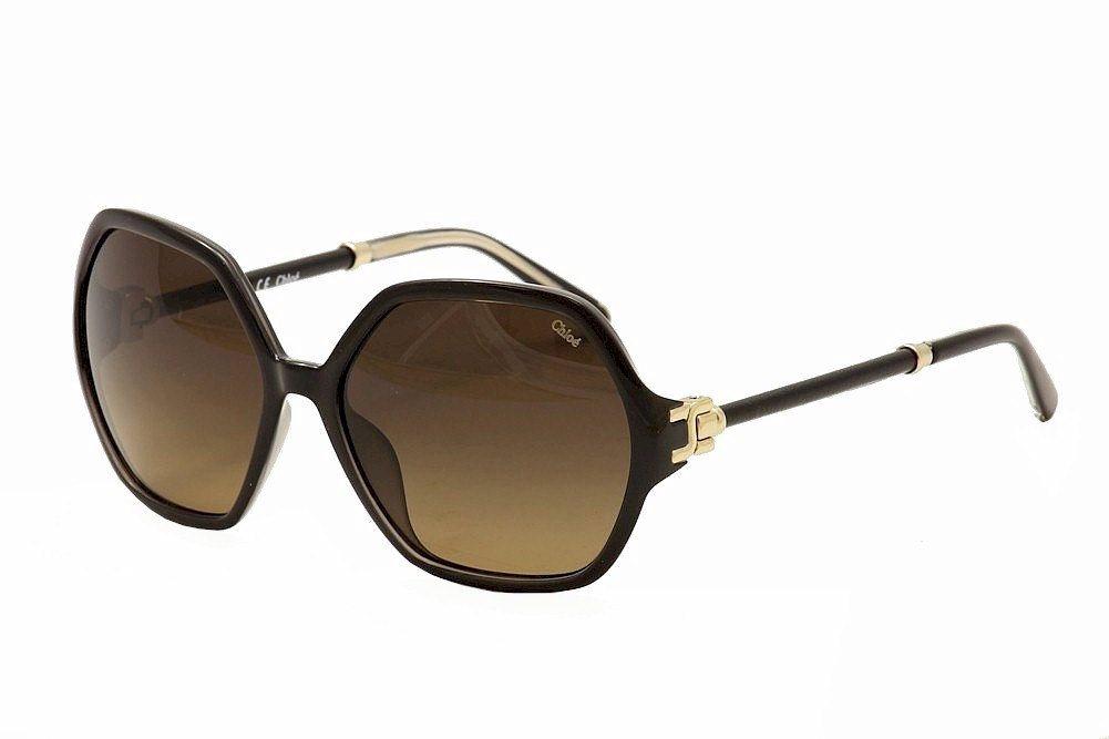 0b5c1e2baef Chloe Women  39 s 638SL 638 SL 001 Black Fashion Sunglasses 57mm
