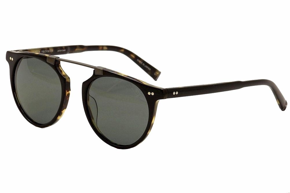 d3b424fd04e John Varvatos Men s V602 V 602 Black Tortoise Polarized Fashion ...